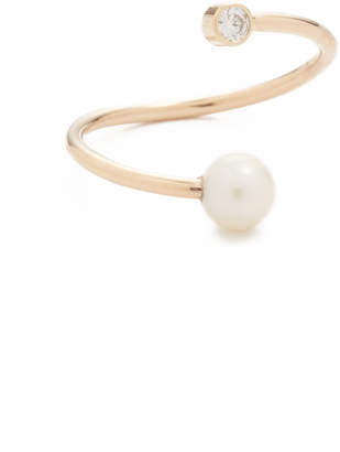 Chicco Zoe 14k Gold Freshwater Cultured Pearl Statement Ring