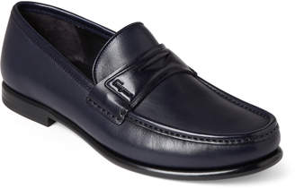 Salvatore Ferragamo Connor Leather Penny Loafers