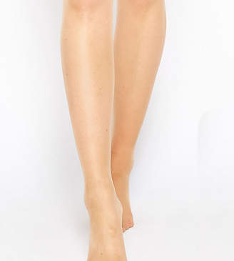 Asos DESIGN Maternity new improved fit 15 denier tights in golden bronze