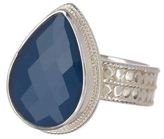 Anna Beck Sterling Silver Blue Topaz Ring