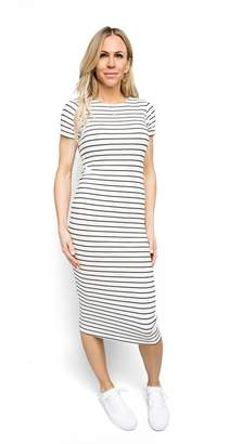 Gibson Stripe Knit Maxi Dress