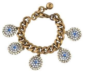 Lulu Frost Crystal Charm Bracelet
