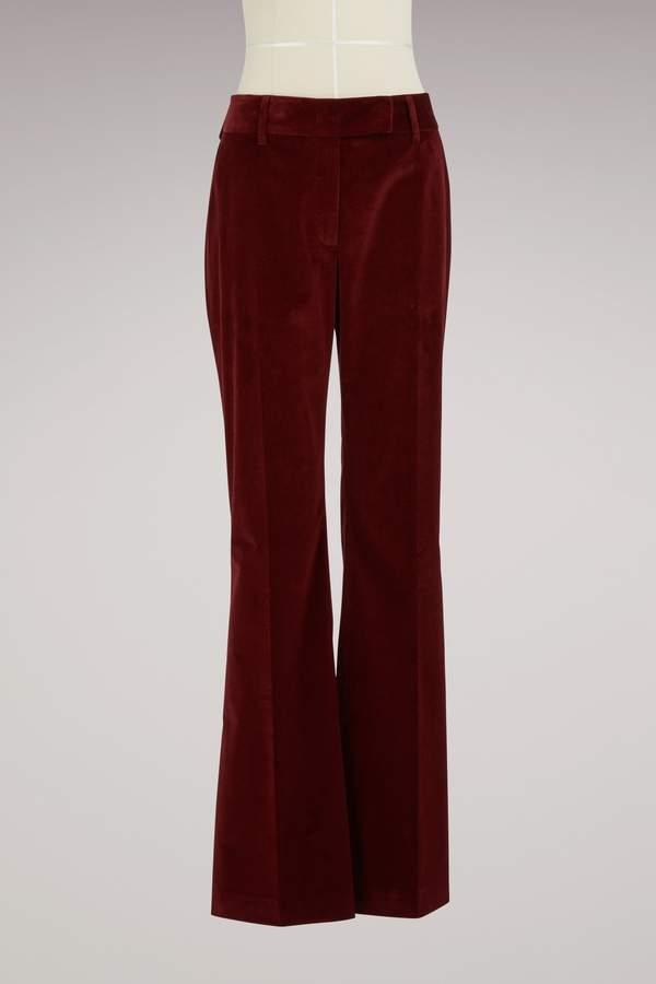 Prada Pantalon en velours