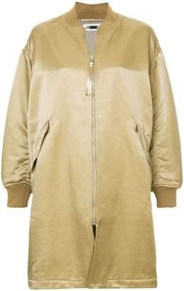 H Beauty&Youth long bomber coat