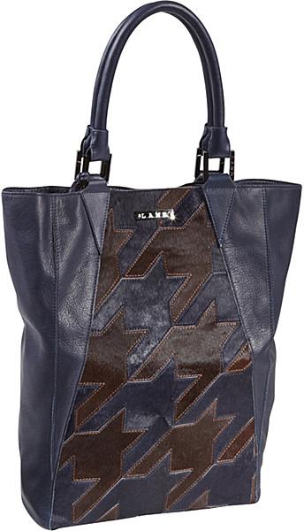 L.A.M.B. Tolman Haircalf/Leather Tote