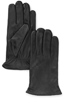 Bloomingdale's The Men's Store at Cashmere Lined Leather Gloves