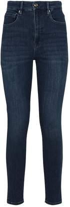 Good American Good Waist Split Hem Jeans