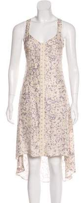 Reformation Silk Midi Dress
