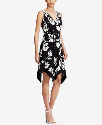 American Living Floral-Print Wrap Dress