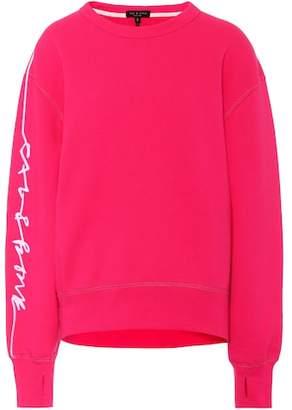 Rag & Bone Combat cotton terry sweatshirt