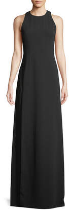 Jill Stuart Wren Sleeveless Back-Cascade Gown