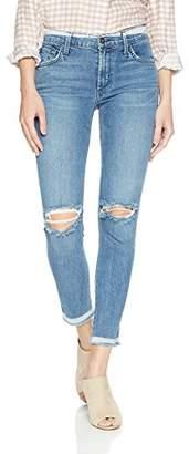 James Jeans Women's J Twiggy Mid Rise Ankle Length Jean in