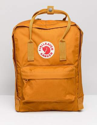 Fjallraven Classic Kanken Backpack In Yellow