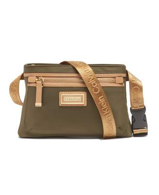 Calvin Klein Belfast Nylon Key Item Fanny Pack Belt Bag