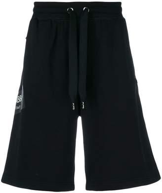 Dolce & Gabbana A-line track shorts