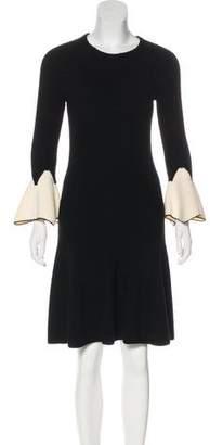 Alexander McQueen Knit Wool Dress
