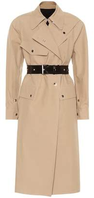 Helmut Lang Utility Mackintosh cotton coat