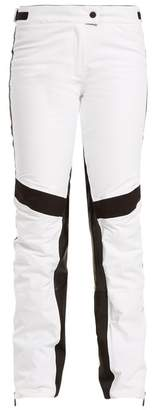 Möve Lacroix Wave Technical Ski Trousers - Womens - White Black