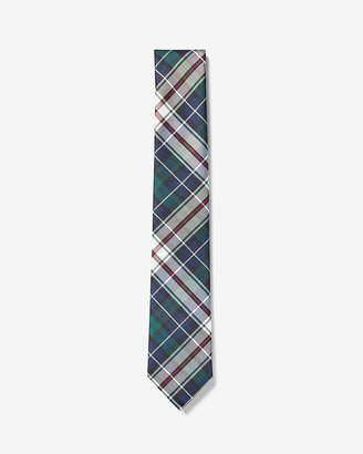 Express Narrow Plaid Tie