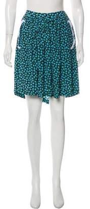 Miu Miu Mini Pleated Skirt