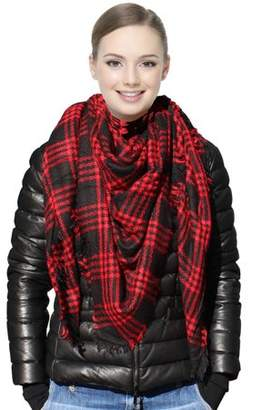 Fashionable Beauty America Trendy Women's Pull Over Shawl Blanket For Cold Weather