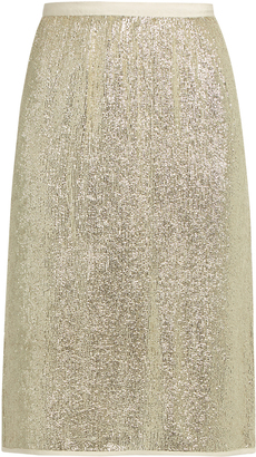 VANESSA BRUNO Gregor sequin-embellished pencil skirt