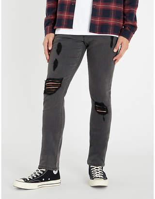 Paige Lennox slim-fit ripped skinny jeans