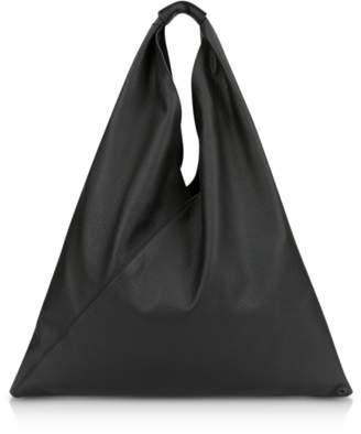 Maison Margiela Pebbled Leather Japanese Tote Bag