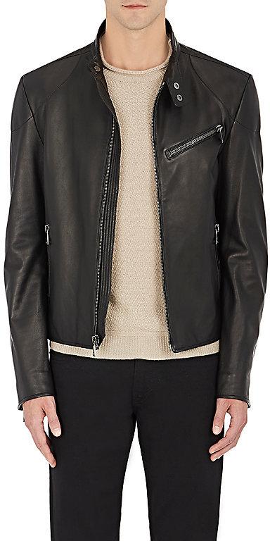 Ralph Lauren Purple LabelRalph Lauren Purple Label Men's Randall Leather Biker Jacket