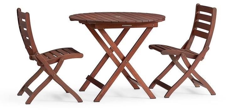Chatham Round Folding Bistro Table & Side Chair Set