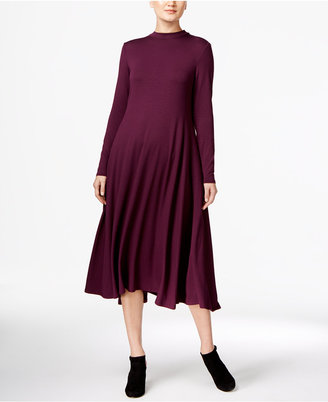 Eileen Fisher Mock-Neck Swing Dress $218 thestylecure.com