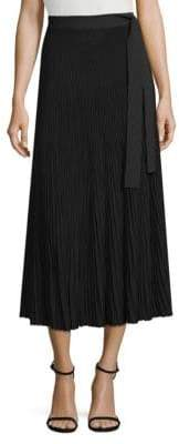 Max Mara Nias Pleated Midi Skirt
