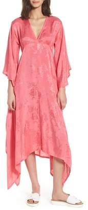 LOVE LIKE SUMMER X BILLABONG Florence Handkerchief Hem Dress