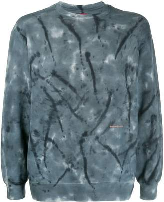 Eckhaus Latta tie dye sweatshirt