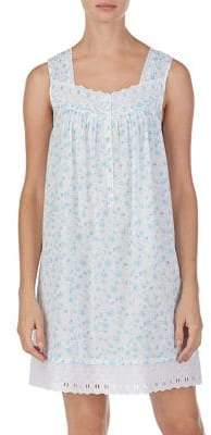 Eileen West Short Cotton Chemise