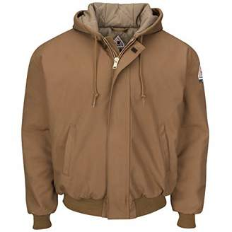 Bulwark Men's Hooded Jacket with Knit Trim-Big/Tall, 2X-Large