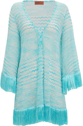 Missoni Mare Fringe Kaftan Cover-Up
