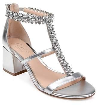 Badgley Mischka Janica Block Heel Sandal (Women)
