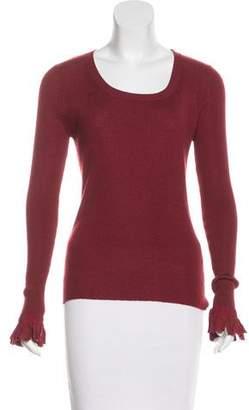 Fendi Long Sleeve Knit Top