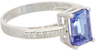 Effy Fine Jewelry 14K 1.94 Ct. Tw. Diamond & Tanzanite Ring