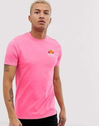 Ellesse Cuba t-shirt with back print in pink