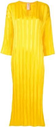 Zero Maria Cornejo satin beach dress