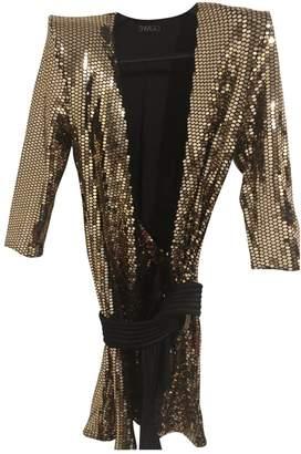 Zhivago Gold Glitter Dress for Women