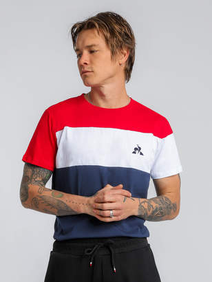 Le Coq Sportif Victor T-Shirt in Dress Blue