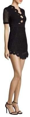 Alice McCall Everybody Knows Knit Mini Sheath Dress