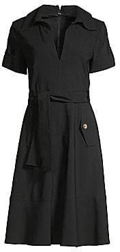 Nanette Lepore Women's Safari A-Line Shirtdress