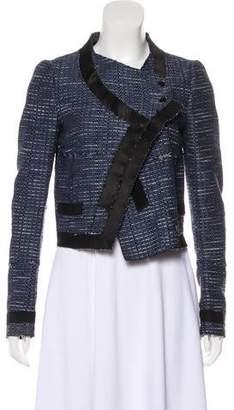Proenza Schouler Textured Long Sleeve Jacket