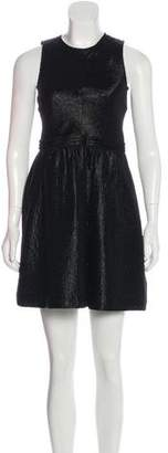 Theory Textured Wool-Blend Dress