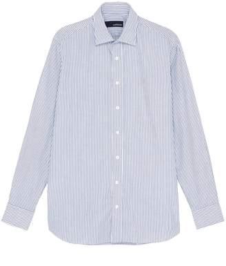 Lardini Stripe Oxford shirt