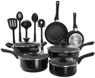 Asstd National Brand 15-Piece Nonstick Cookware Set